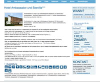 Website Hotel Ambassador